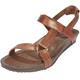 Teva Ysidro Universal Metallic Naiset sandaalit , ruskea